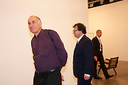 MICHAEL HORT; IVAN WIRTH, Opening of Art Basel Miami Beach. Convention Centre.  Miami Beach. 30 November 2010. -DO NOT ARCHIVE-© Copyright Photograph by Dafydd Jones. 248 Clapham Rd. London SW9 0PZ. Tel 0207 820 0771. www.dafjones.com.