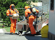 Napier-Full fire crew callout to clear a mercury spill in Kennedy Road