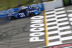 June 1, 2018 - Long Pond, Pennsylvania, United States of America - Ryan Newman (31) brings his car down the frontstretch during qualifying for the Pocono 400 at Pocono Raceway in Long Pond, Pennsylvania. (Credit Image: © Chris Owens Asp Inc/ASP via ZUMA Wire)