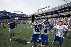 2014 May 26: Luke Duprey #91 of the Duke Blue Devils after winning the NCAA championship with a 11-9 win over the Notre Dame Fighting Irish at M&T Bank Stadium in Baltimore, MD.