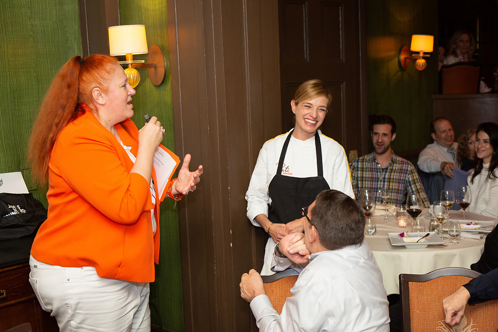 New York, NY - May 1, 2018:  Chef Pati Jinich and  her team present a Cinco de Mayo dinner at the James Beard House in Greenwich Village.<br /> <br /> CREDIT: Clay Williams for The James Beard Foundation.<br /> <br /> © Clay Williams / http://claywilliamsphoto.com