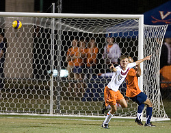 Virginia Tech Hokies F Stefan Hock (7) scored against UVA.  The #4 ranked Virginia Cavaliers men's soccer team tied the Virginia Tech Hokies 1-1 at Klockner Stadium in Charlottesville, VA on September 28, 2007.