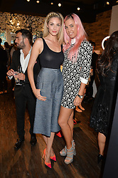 Left to right, TAMSIN EGERTON and AMBER LE BON at the launch of the new Rituals store at 29 James Street, Covent Garden, London on 1st September 2016.