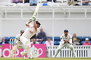 Dean Elgar of Surrey during the Specsavers County C'ship Div One match at the Kia Oval, London<br /> Picture by Simon Dael/Focus Images Ltd 07866 555979<br /> 11/05/2018