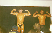 EXCLUSIVE Channing Tatum pictured at High school Body Building Contest