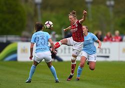 Yana Daniels of Bristol City Women - Mandatory by-line: Paul Knight/JMP - 03/05/2018 - FOOTBALL - Stoke Gifford Stadium - Bristol, England - Bristol City Women v Manchester City Women - FA Women's Super League 1