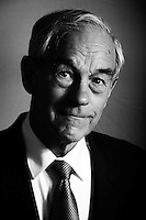 WASHINGTON, DC - NOVEMBER 16:  Republican Presidential Candidate and Texas Congressman, Ron Paul, stands for a portrait in the Cannon House Office Building on Capitol Hill, Wednesday, November 16, 2011. (Photo by Melina Mara/The Washington Post) . ...