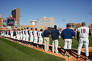 April 16, 2009:  Toledo Mudhens at the Home Opener before the MiLB game between Columbus Clippers and Detroit Toledo Mudhens at Fifth Third Field in Toledo, Ohio (Credit Image: © Rick Osentoski/Cal Sport Media)