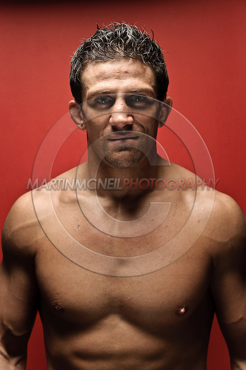 A portrait of mixed martial arts athlete and celebrity Alex Reid