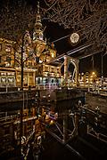 Noord-Holland bij nacht, aankleding, alkmaar