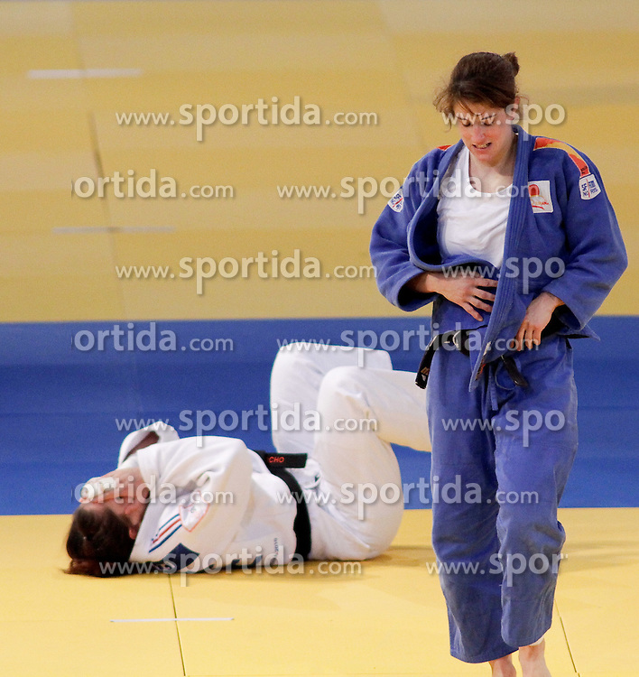 23.04.2010, Ferry Dusika Stadion, Wien, AUT, Judo European Championships, Cecilla Blanco (ESP) vs Mylene Chollet (FRA), during Judo European Championships 2010, EXPA Pictures 2010, Photographer EXPA/ S. Trimmel / SPORTIDA PHOTO AGENCY