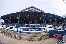 The Main Stand at Stark's Park, the home ground of Scottish football team, Raith Rovers F.C.