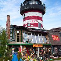 Captain Nemos Restaurant near Bar Harbor Maine.