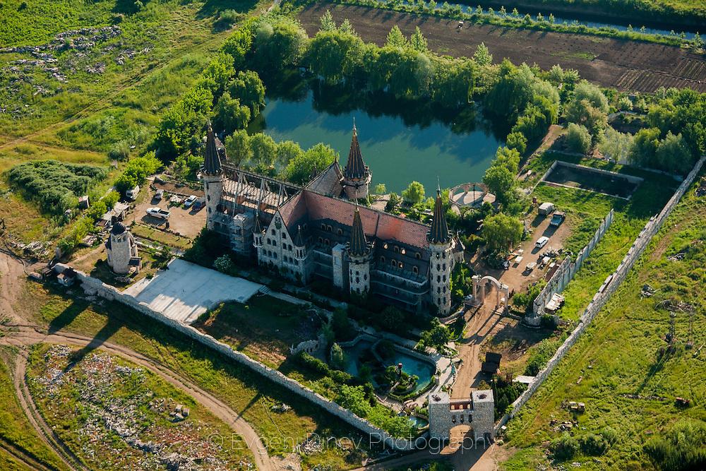 Aerial photography of Ravadinovo castle