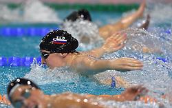 02-04-2015 NED: Swim Cup, Eindhoven<br /> Anja Klinar SLO, 200m medley<br /> Photo by Ronald Hoogendoorn / Sportida