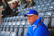 Contemplating the match supporters - community during the EFL Sky Bet League 1 match between Rochdale and Gillingham at Spotland, Rochdale, England on 15 September 2018.
