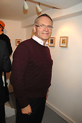 LORD ARCHER at an exhibition of photographs by Madeleine Farley entitled 'Cameos' held at the Westbrook Gallery, 8 Windmill Street, London W1 on 14th February 2008. <br />