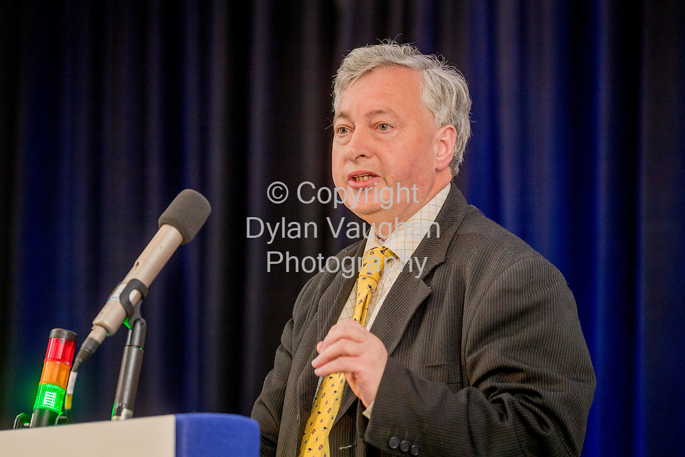 1-6-17<br />  <br /> Jack McCarthy, Boards and Voluntary Agencies at the IMPACT Health and Welfare Division Conference in Wexford.<br /> Picture Dylan Vaughan.