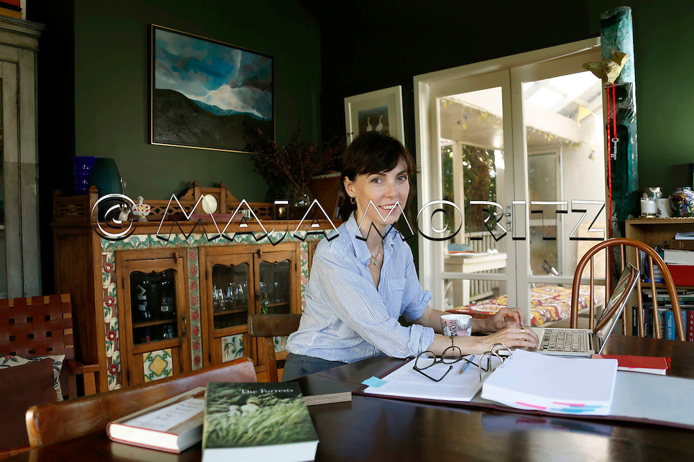 Emily Perkins at home in Grey Lynn, Auckland, New Zealand
