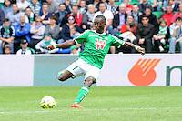 But Max Alain GRADEL - 26.04.2015 - Saint Etienne / Montpellier - 34eme journee de Ligue 1<br />Photo : Jean Paul Thomas / Icon Sport