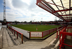 A general view of The Wham Stadium, home to Accrington Stanley - Mandatory by-line: Robbie Stephenson/JMP - 14/04/2018 - FOOTBALL - Wham Stadium - Accrington, England - Accrington Stanley v Exeter City - Sky Bet League Two