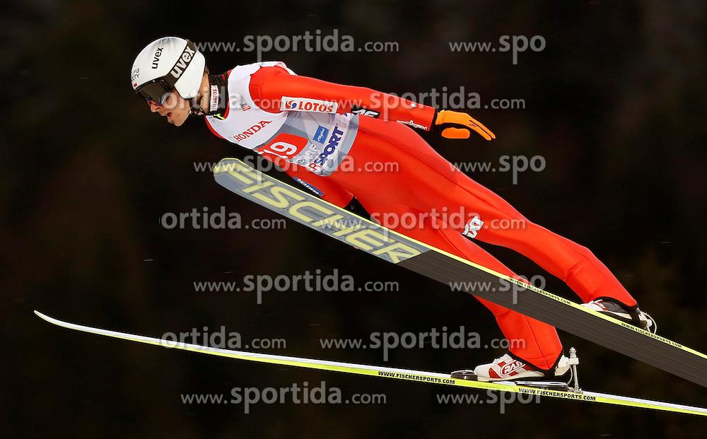 29.12.2013, Schattenbergschanze, Oberstdorf, GER, FIS Ski Sprung Weltcup, 62. Vierschanzentournee, Training, im Bild Piotr Zyla // Piotr Zyla during practice Jump of 62 th Four Hills Tournament of FIS Ski Jumping World Cup at the Schattenbergschanze in Oberstdorf, Germany on 2013/12/29. EXPA Pictures &copy; 2013, PhotoCredit: EXPA/ Newspix/ Dawid Markysz<br /> <br /> *****ATTENTION - for AUT, SLO, CRO, SRB, BIH, MAZ, TUR, SUI, SWE only*****