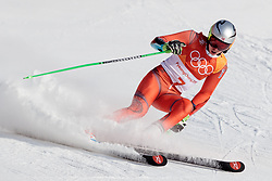 18.02.2018, Yongpyong Alpine Centre, Pyeongchang, KOR, PyeongChang 2018, Ski Alpin, Herren, Riesenslalom, 2. Durchgang, im Bild Henrik Kristoffersen (NOR, 2. Platz) // silver medalist Henrik Kristoffersen of Norway during the 2nd run of men's Alpine Giant Slalom Race of the Pyeongchang 2018 Winter Olympic Games at the Yongpyong Alpine Centre in Pyeongchang, South Korea on 2018/02/18. EXPA Pictures © 2018, PhotoCredit: EXPA/ Johann Groder