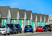 Waterfront rental cottages, Truro, Cape Cod, Massachusetts, USA
