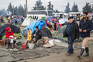 Norbert Blüm sleeps in Idomeni