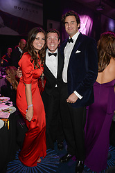 British fine jewellery brand Boodles welcomed guests for the 2013 Boodles Boxing Ball in aid of Starlight Children's Foundation held at the Grosvenor House Hotel, Park Lane, London on 21st September 2013.<br /> Picture Shows:- LADY NATASHA FINCH, JACK BROOKSBANK and RUPERT FINCH.<br /> <br /> Press release - https://www.dropbox.com/s/a3pygc5img14bxk/BBB_2013_press_release.pdf<br /> <br /> For Quotes  on the event call James Amos on 07747 615 003 or email jamesamos@boodles.com. For all other press enquiries please contact luciaroberts@boodles.com (0788 038 3003)