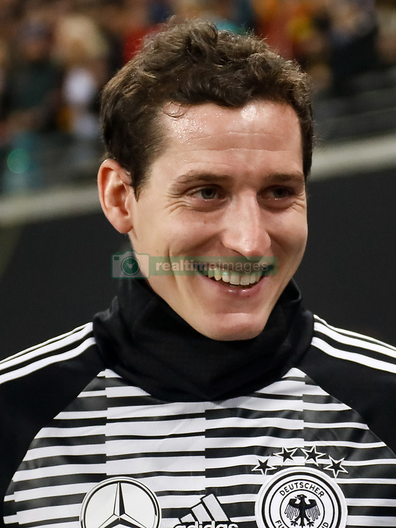 November 15, 2018 - Leipzig, Germany - Sebastian Rudy of Germany looks on during the international friendly match between Germany and Russia on November 15, 2018 at Red Bull Arena in Leipzig, Germany. (Credit Image: © Mike Kireev/NurPhoto via ZUMA Press)