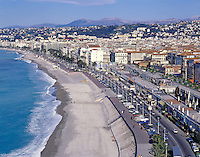 AA00374-01...FRANCE - Nice, at the head of the Baie des Anges, on the French Riviera