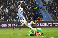 Foto LaPresse/Filippo Rubin<br /> 26/12/2018 Ferrara (Italia)<br /> Sport Calcio<br /> Spal - Udinese - Campionato di calcio Serie A 2018/2019 - Stadio &quot;Paolo Mazza&quot;<br /> Nella foto: MATTIA VALOTI (SPAL)<br /> <br /> Photo LaPresse/Filippo Rubin<br /> December 26, 2018 Ferrara (Italy)<br /> Sport Soccer<br /> Spal vs Udinese - Italian Football Championship League A 2018/2019 - &quot;Paolo Mazza&quot; Stadium <br /> In the pic: MATTIA VALOTI (SPAL)