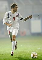Fotball<br /> Landskamp U21<br /> 14.11.2006<br /> Italia v Tsjekkia 0-0<br /> Foto: Inside/Digitalsport<br /> NORWAY ONLY<br /> <br /> Martin Latka (Czech Republic)