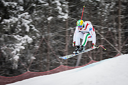 21.02.2013, Kandahar, Garmisch Partenkirchen, AUT, FIS Weltcup Ski Alpin, Abfahrt, Herren, 1. Training, im Bild Dominik Paris (ITA) // Dominik Paris of Italy in action during 1st practice of the  mens Downhill of the FIS Ski Alpine World Cup at the Kandahar course, Garmisch Partenkirchen, Germany on 2013/02/21. EXPA Pictures © 2013, PhotoCredit: EXPA/ Johann Groder
