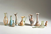 Roman and Islamic period glass bottles