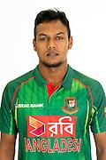 Kamrul Islam, Bangladesh cricket team headshots ahead of their New Zealand tour. Cobham Oval, Whangarei. 21 December 2016. Copyright Image: Heath Johnson / www.photosport.nz