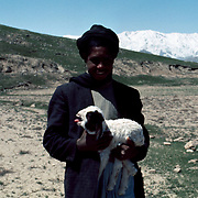 12 April 1976<br /> Kabul. Many nomadic groups camp in this valley for some time during their spring migrations from the plains into the central highlands.