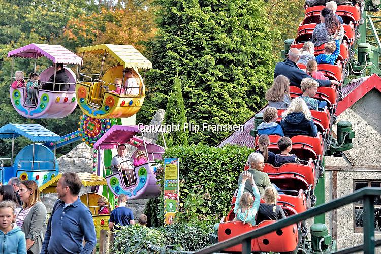 Nederland, Berg en Dal, 19-10-2017Pretpark Tivoli voor de jongere jeugd.Amusementspark Tivoli in Berg en Dal is populair bij de bezoekers van de website van Eropuit in Eigen Land, zij wonnen de derde plaats in de categorie dagje uit . Foto: Flip Franssen
