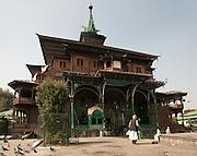 Shah Hamdan Mosque - Srinaga Kashmir