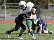Beacon, New York - Woodlands plays Beacon in a high school football game on Oct. 16, 2010.