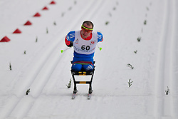 ILALUTDINOV Ramil, RUS at the 2014 IPC Nordic Skiing World Cup Finals - Middle Distance