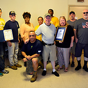 BRONX, NY - 8/18/2018 - <br /> U.S. Navy Chief Selects from Navy Operational Support Center New York volunteered at Samuel H. Young American Legion Post 620 on Saturday as part of CPO365 Phase II.  (U.S. Navy Photo by Chief  Mass Communication Specialist Roger S. Duncan / RELEASED )