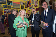 JENNIFER SAUNDERS; GRAHAM NORTON, Royal Academy Summer Exhibition party. Burlington House. Piccadilly. London. 6 June 2018
