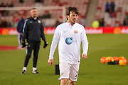 Manchester City midfielder David Silva  during the Barclays Premier League match between Sunderland and Manchester City at the Stadium Of Light, Sunderland, England on 2 February 2016. Photo by Simon Davies.