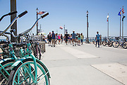 Beach Cruisers on the Huntington Beach Pier