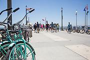 Beach Cruisers on the Huntington Beach Pier