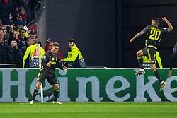 10-04-2019 NED: Champions League AFC Ajax - Juventus,  Amsterdam<br /> Round of 8, 1st leg / Ajax plays the first match 1-1 against Juventus during the UEFA Champions League first leg quarter-final football match / Cristiano Ronaldo #7 of Juventus, Joao Cancelo #20 of Juventus