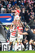 Twickenham, United Kingdom, Saturday, 17th  November 2018, RFU, Rugby, Stadium, England,  Quilter Autumn International, England vs Japan, © Peter Spurrier
