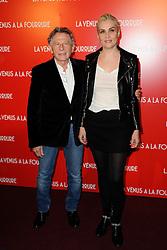 Emmanuelle Seigner, Roman Polanski attending the premiere for the film Venus In Fur (La Venus A La Fourrure) held at the Cinema Gaumont Marignan in Paris, France on November 4, 2013. Photo by Alban Wyters/ABACAPRESS.COM  | 421119_007 Paris France